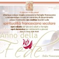 locandina annuncio francescano san marco in lamis 2012