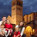 famiglia-basilica-assisi-san-francesco