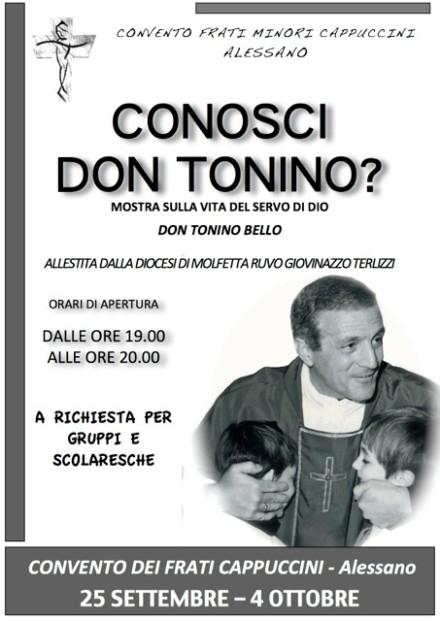 Mostra ad Alessano CONOSCI DON TONINO