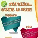 locandina concorso 'francesco scatta la festa' 2013