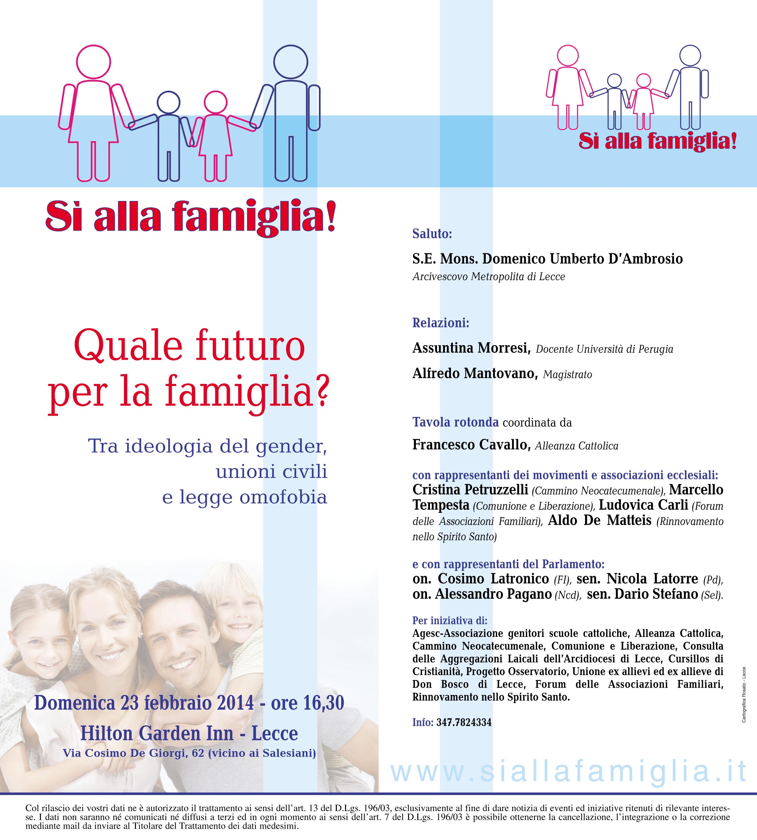 82b7969088 Ordine Francescano Secolare di Puglia » Famiglia