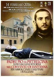 Locandina  P.Pio a Foggia