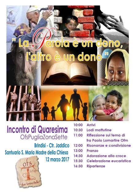 Locandina con programma Quaresima 2017_Zona 7