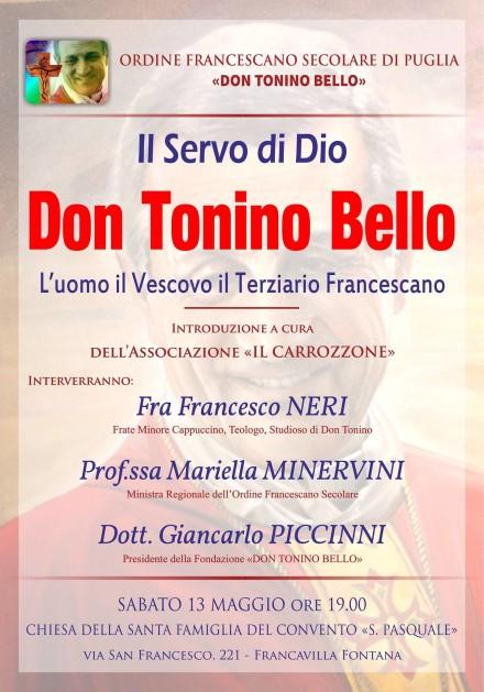 Incontro su don tonino FrancavillaF 2017