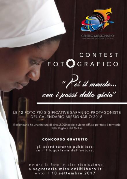 ConcorsoFotografico _Calendario_Missioni_Ofm_2017