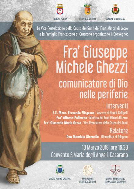 manifesto Convegno Fra Giuseppe Ghezzi 2018